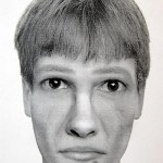 A sketch of the suspect released by the Tallinn police.