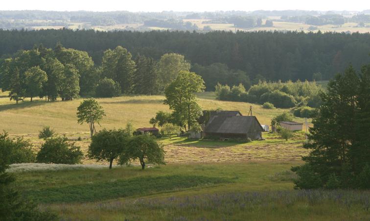 Latvian rural women have no