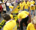 Ventspils claims Guinness record for flower carpet